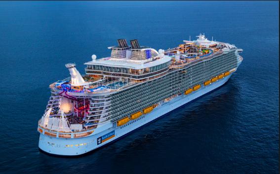 Погледнете како изгледа најголемиот брод крузер во светот
