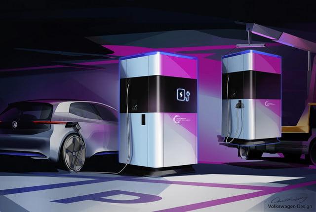 Volkswagen претстави револуционерен мобилен полнач за автомобили