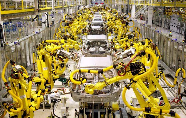 Една четвртина од големите компании во ЕУ користат роботи