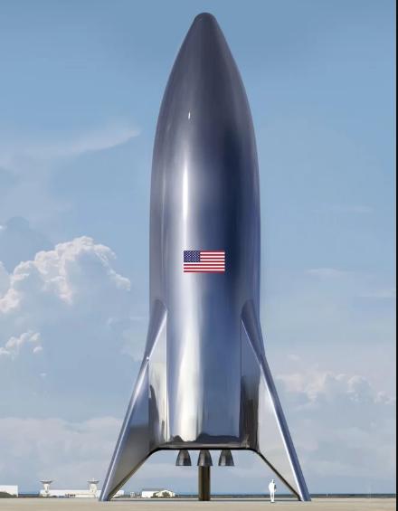 Илон Маск ја објави првата фотографија од вселенскиот брод за патувања до Марс
