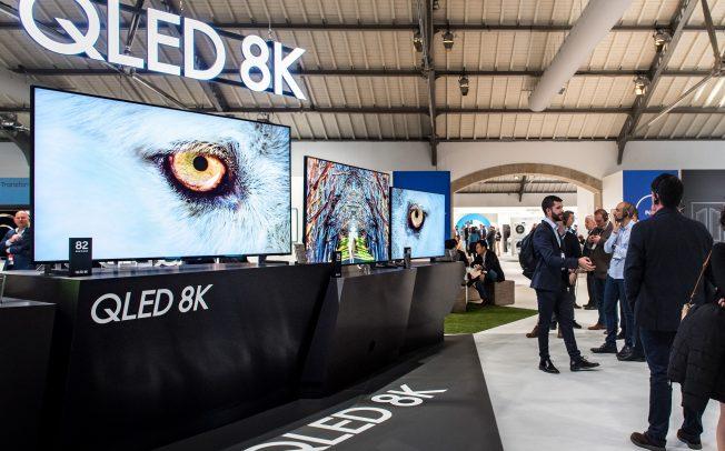 """Самсунг ја претстави најновата """"QLED"""" серија на телевизори за 2019 година на Форумот Самсунг Европа во Португалија"""