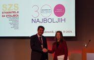 Претседателката на ССК, Данела Арсовска со престижна наградана Регионален самит на претприемачи во Дубровник