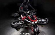 Овој моторцикл може да се трансформира во летачко возило