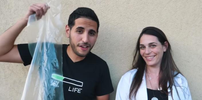 Млада хемичарка измисли пластика која целосно се раствора во вода