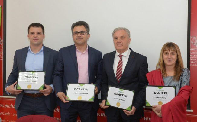 Општина Прилеп избрана за најеколошка општина во Македонија за 2018 година