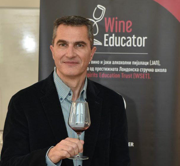 Срѓан Лисац: Светот бара органски вина. Македонија може да ги понуди!