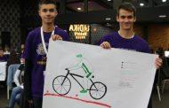 Скопски гимназијалци претворија велосипед во полнач за мобилни телефони