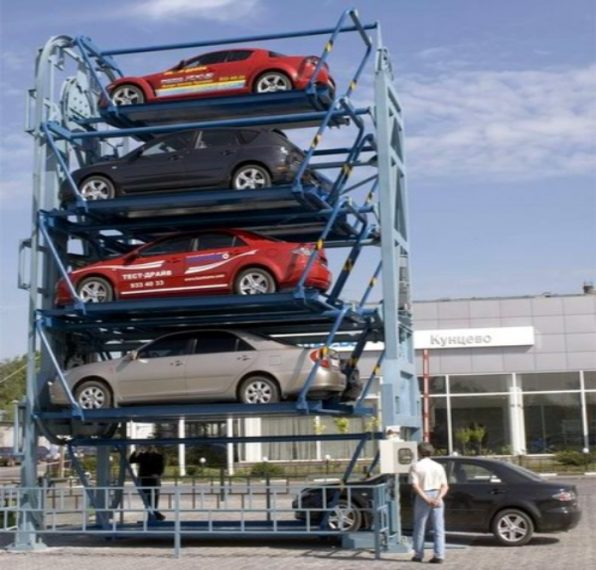 Во иднина автомобилите ќе ги паркираме вертикално со паметен роботски систем