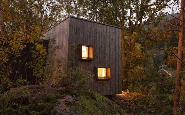 Норвешките болници градат дрвени колиби во шума за побрзо оздравување на пациентите