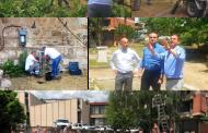 """Волонтери на ЕВН го расчистија и осветлија дворот на """"Куршумли ан"""""""