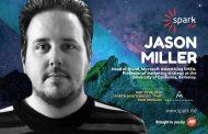 Џејсон Милер, директор за бренд маркетинг за регионот ЕМЕА во Microsoft, е последниот говорник на Spark.me 2019