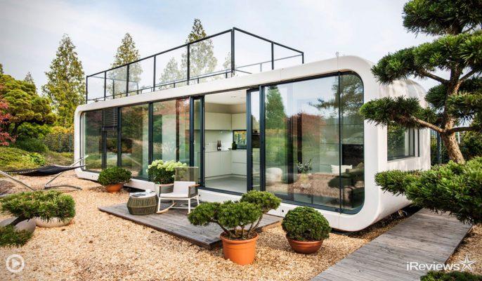 Овој модуларен дом можете да го носите со себе каде и да одите