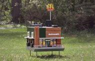Ова е минијатурен МекДоналдс за пчели (ВИДЕО)