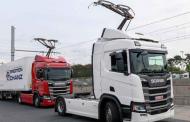 Германија го отвора првиот електричен автопат за камиони