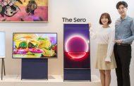 Samsung претстави телевизор кој може да се сврти од хоризонтален во вертикален