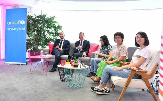 Партнерство на УНИЦЕФ и фондацијата Телеком за Македонија