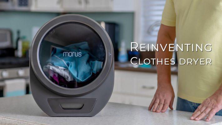 Оваа вакуумска преносна сушара ќе ја испари влагата од вашата облека