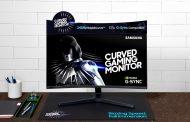 """Самсунг го претстави најновиот """"CRG5"""" 240 херцен """"G-Sync"""" компатибилен заоблен монитор за """"гејмери"""""""