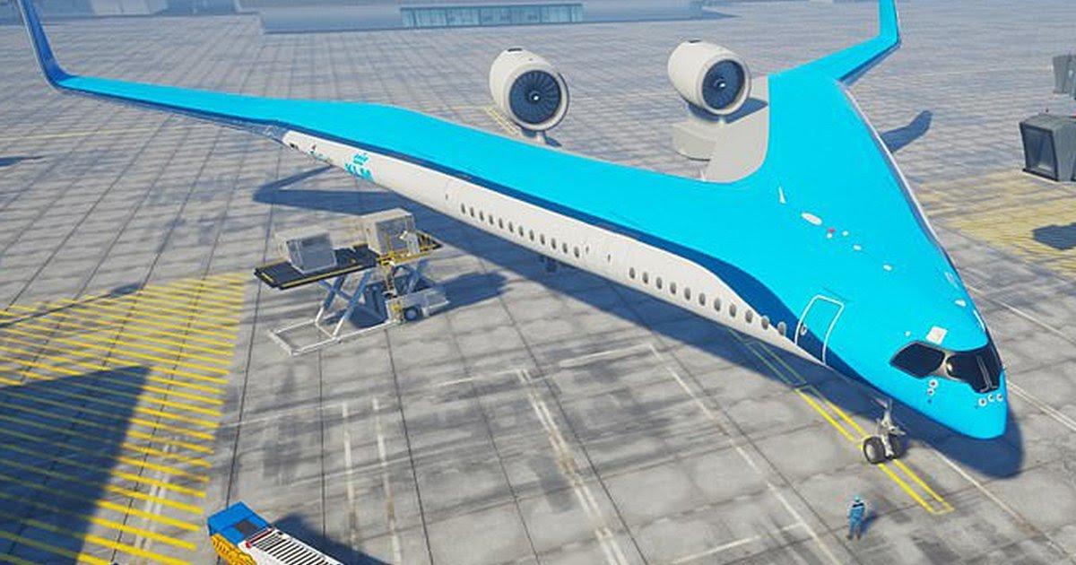 Футуристички авион ќе ги пренесува патниците во крилата
