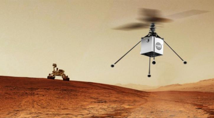 НАСА ќе испрати хеликоптер на Марс