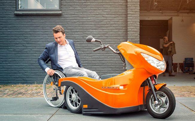 Електричниот скутер Pendel им овозможува независност на луѓето во инвалидска количка