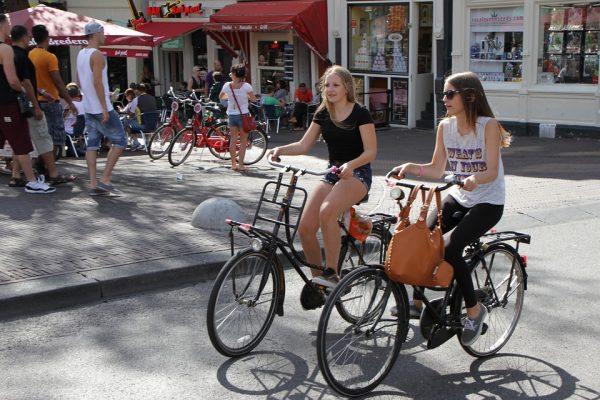 Возењето велосипеди во Холандија исто како да се садат 54 милиони дрвја секоја година