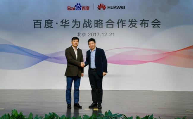 Baidu и Huawei склучија партнерство на полето вештачка интелигенција