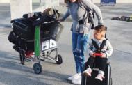 Куферот Bagrider истовремено е и количка за деца