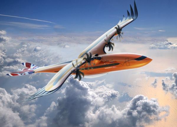 Airbus претстави концепт за футуристички авион кој личи на птица грабливка