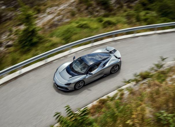 Компанијата на младиот Мате Римац учествуваше во создавањето на импресивниот италијански автомобил Battista