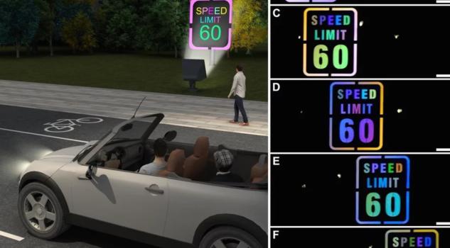 Сообраќајни знаци менуваат бои за да го привлечат вниманието на возачите