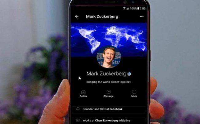 """Фејсбук апликацијата наскоро ќе добие """"Dark mode"""""""