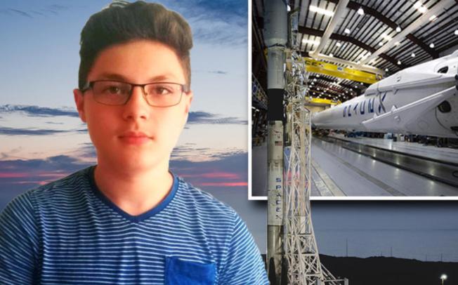 Дејан Лукиќ е чудо од дете – патентираше вселенски сателит кој ќе го користи НАСА