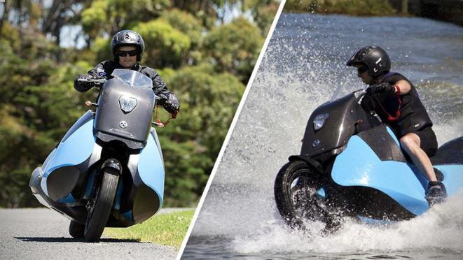 Biski е моторцикл и џет-ски во едно