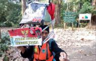 Индонезиец ќе оди наназад 700 км за да ја подигне свеста за обесшумувањето
