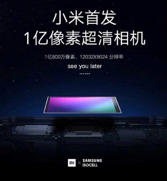 Xiaomi во својот најнов смартфон ќе стави камера од 108 мегапиксели