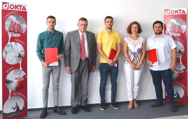 ОКТА и Хеленик Петролеум ќе стипендираат тројца македонски студенти за постдипломски студии на Универзитетот во Пиреја, Грција
