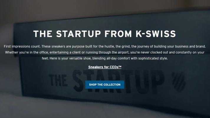 The Startup се патики направени посебно за генерални директори